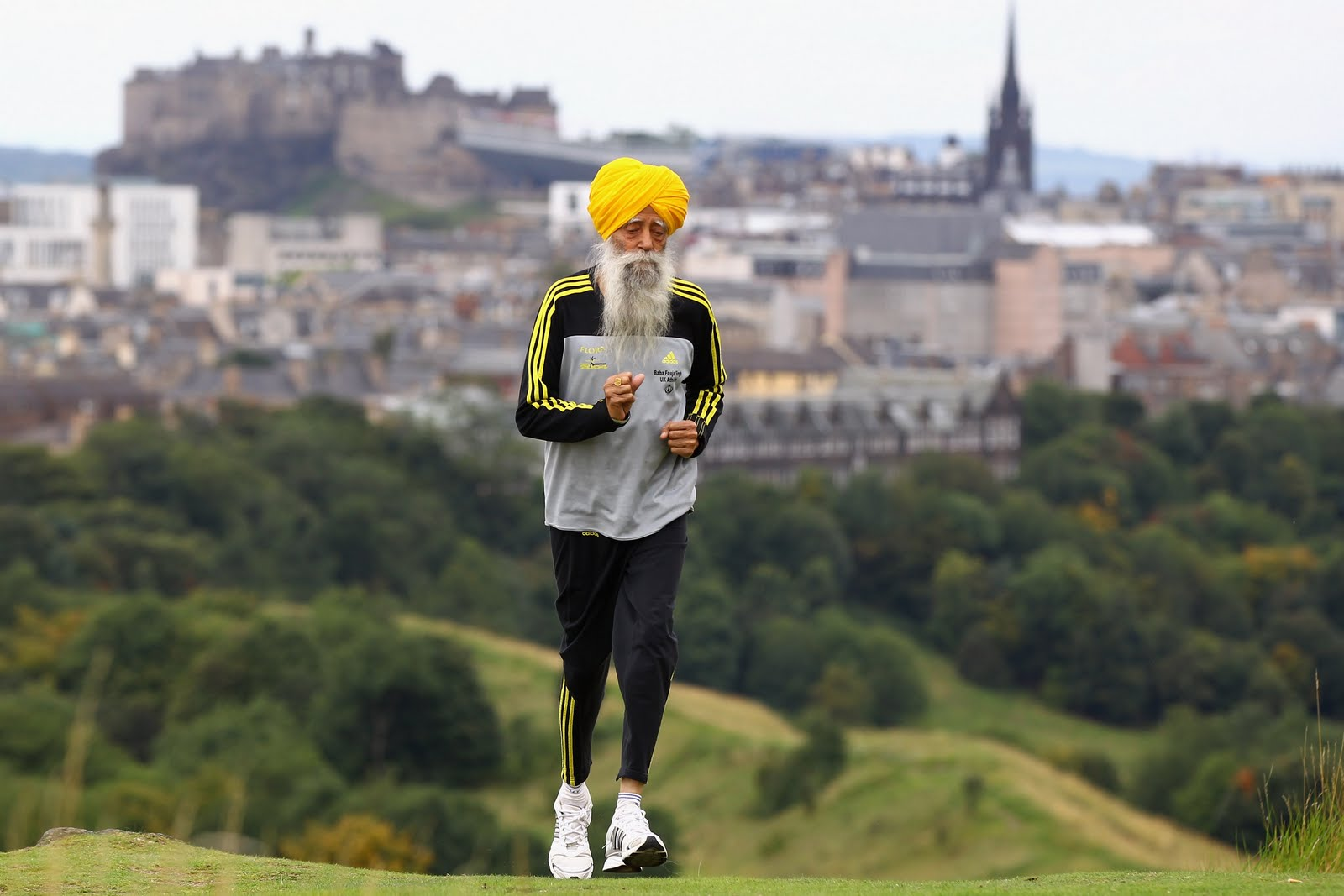 Being active is like a medication. Who says? 102-year-old Fauja Singh